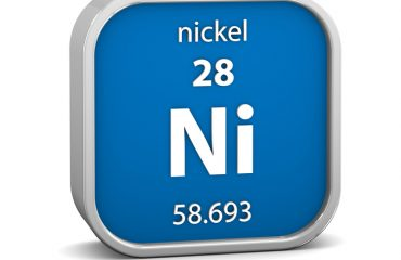 Nickel material sign