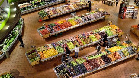 Fruit, vegetables