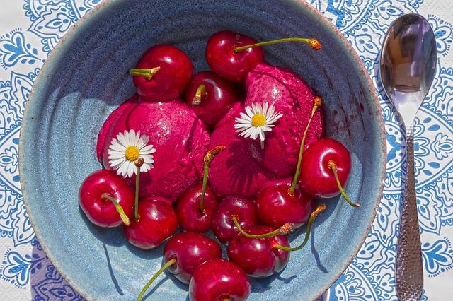 frukt och grönsakssorbéer