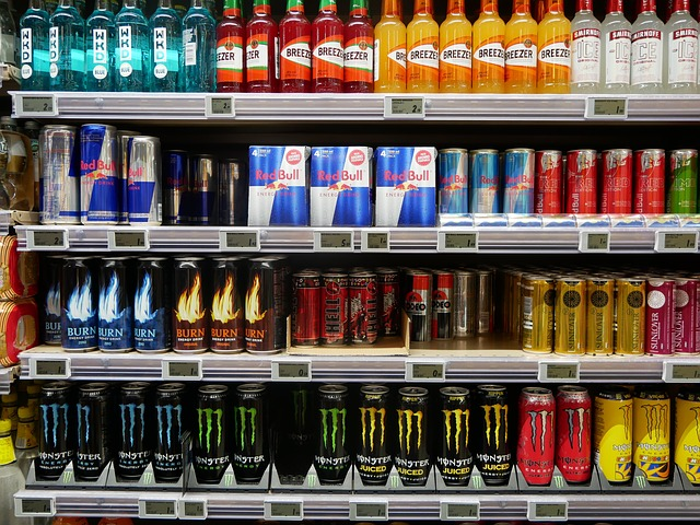 energy drinks for a boost